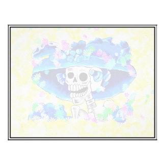 La Calavera Catrina - lachende Skeleton Frau Flyer