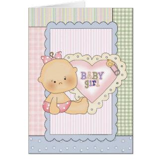 La carte de félicitations de bébé/invitation de