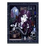La carte postale d'alchimiste