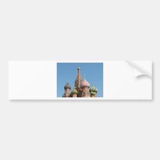 La cathédrale de Basil de saint Autocollant De Voiture