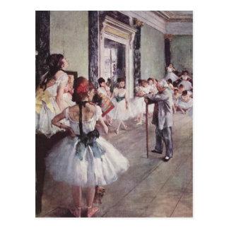 La Classe de Danse (die Tanzenklasse) Postkarte