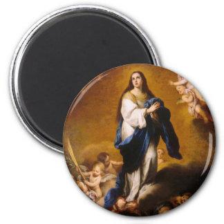 La conception impeccable magnet rond 8 cm