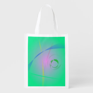 La conception la plus unique d'abrégé sur vert sacs d'épicerie