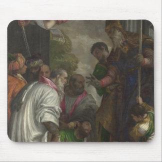 La consécration de Saint-Nicolas par Paolo Verones Tapis De Souris