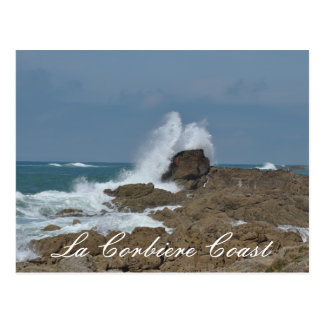La Corbier Küsten-Postkarte Postkarte