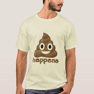 La dunette d'Emoji se produit T-shirt