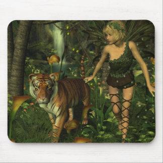 La fée et le tigre tapis de souris