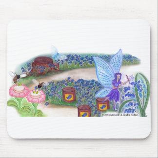 La fée Mousepad de jacinthe des bois Tapis De Souris