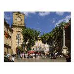 La France, Aix-en-Provence, La Place de la Maire Carte Postale