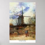 La Galette de Le Moulin de par Vincent van Gogh Poster