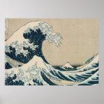 La grande vague de Kanagawa Posters