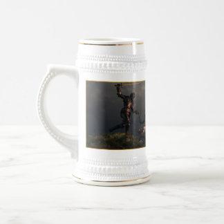 La lutte du chevalier Templar Mug À Café