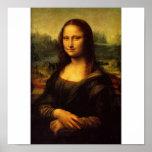 La Mona Lisa par Leonardo da Vinci C. 1503-1505 Poster