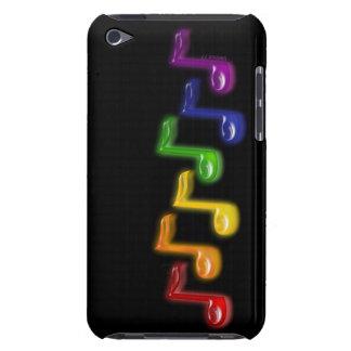 La musique d'arc-en-ciel note la caisse d'iPod