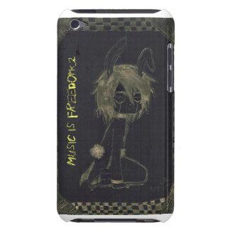 La musique est liberté coque Case-Mate iPod touch