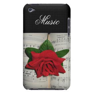 La musique s'est levée coque iPod touch Case-Mate