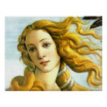 La naissance de Vénus - détail Posters