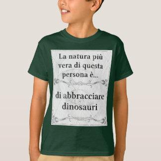 La natura più Vera: abbracciare dinosauri amicizia T-Shirt