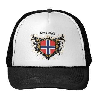 La Norvège [personnalisez] Casquettes De Camionneur