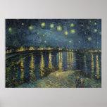 La nuit étoilée, 1888 affiches