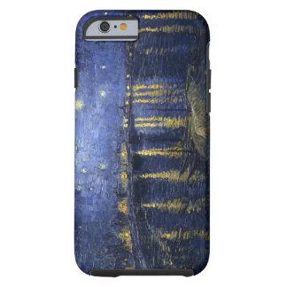 La nuit étoilée de Van Gogh au-dessus de l'iPhone