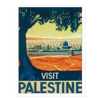 La Palestine vintage Moyen-Orient Carte Postale