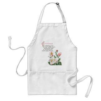La pivoine botanique fleurit le tablier floral de