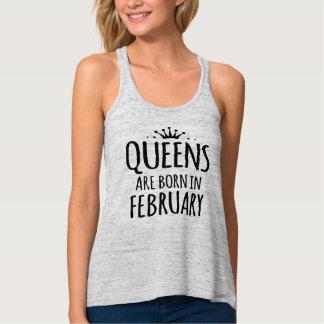 la reine sont en février débardeur né