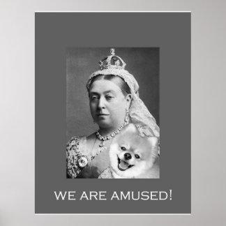 La Reine Victoria s'amuse 2 Affiche