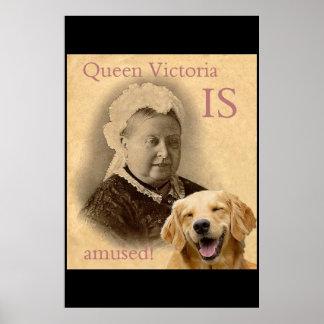 La Reine Victoria s'amuse Poster