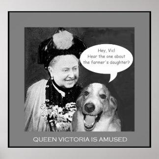 La Reine Victoria s'amuse ! Affiche