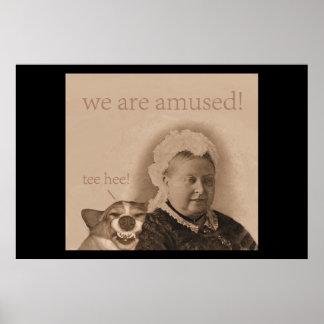 La Reine Victoria s'amuse ! Poster