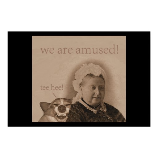La Reine Victoria s'amuse ! Posters