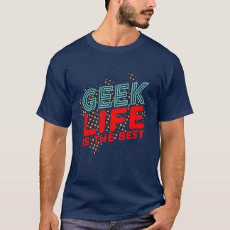 La rétro vie fraîche de geek est le meilleur t-shirt
