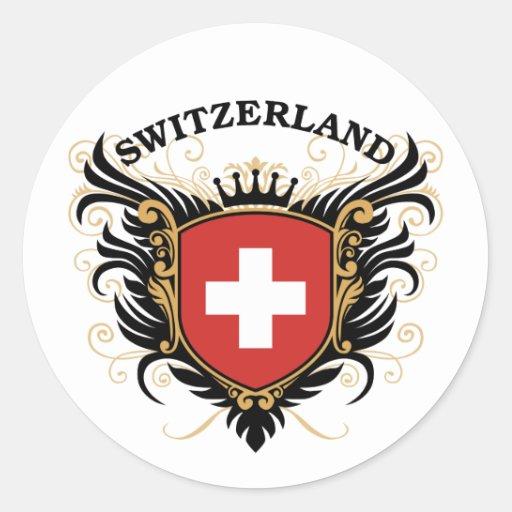 La Suisse Adhésif Rond