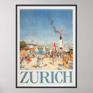 La Suisse vintage - Poster