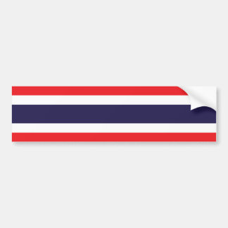 La Thaïlande/drapeau thaïlandais Autocollant De Voiture