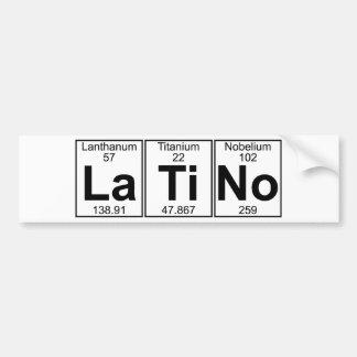 La-Ti-Kein (Latino) - voll Autoaufkleber