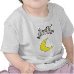 La vache sautée au-dessus de la lune t-shirt