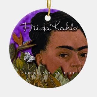 La Vida Frida Kahlos Pasion Por Keramik Ornament