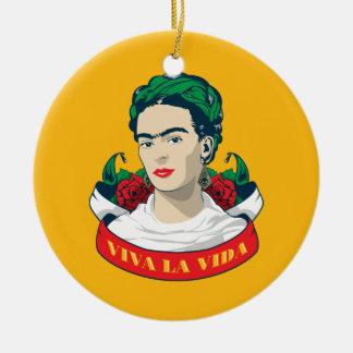 La Vida Frida Kahlos | Viva Keramik Ornament