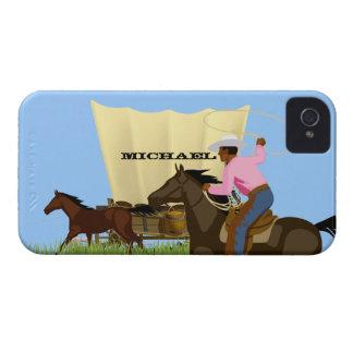 La vie occidentale sauvage américaine vintage coques iPhone 4 Case-Mate