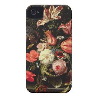La vie toujours des fleurs sur un rebord coques iPhone 4