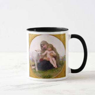 La_Vierge_a_Lagneau - rund in frame.jpg, heilig… Tasse