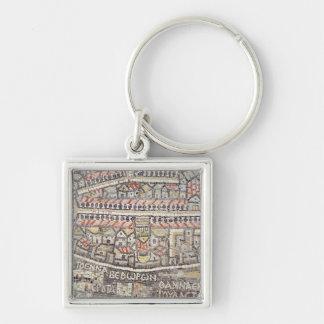 La ville de Jérusalem et des abords Porte-clés