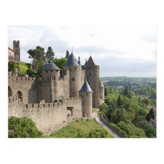 La zitieren, Carcassonne Postkarte