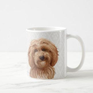 Labradoodle Hundemalereien/Labradoodle Liebe/ Kaffeetasse