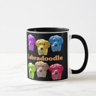 Labradoodles Pop-Kunst Tasse