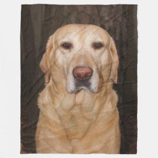 Labrador-Fleece-Decke Fleecedecke