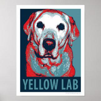 Labrador-Hoffnungs-politischer Parodie-Entwurf Poster